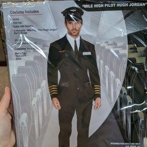 Men's pilot costume